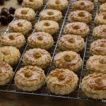 Pastas de avellana-Piruletas de jamón-Blog de cocina