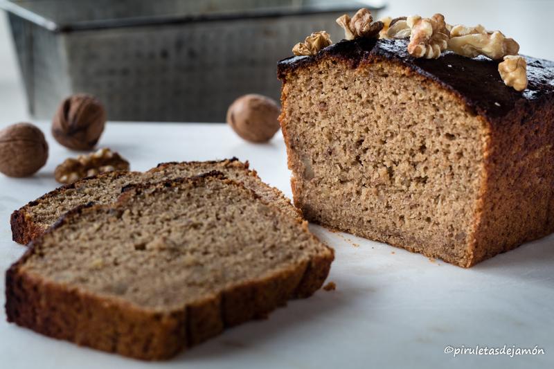 Bizcocho de plátano y nueces-Piruletas de jamón-Blog de cocina