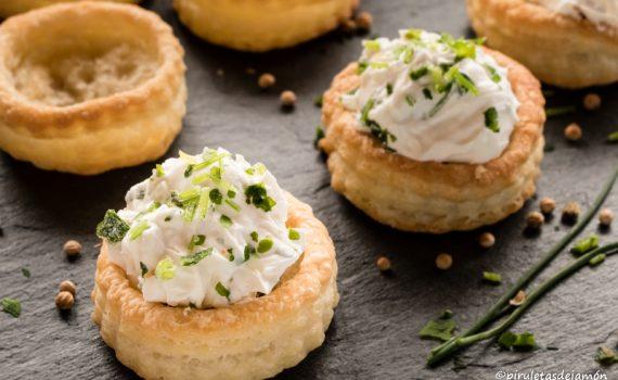 Volovanes-Piruletas de jamón - Blog de cocina