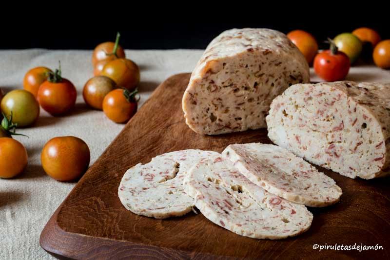 Fiambre de pollo-Piruletas de jamón- Blog de cocina