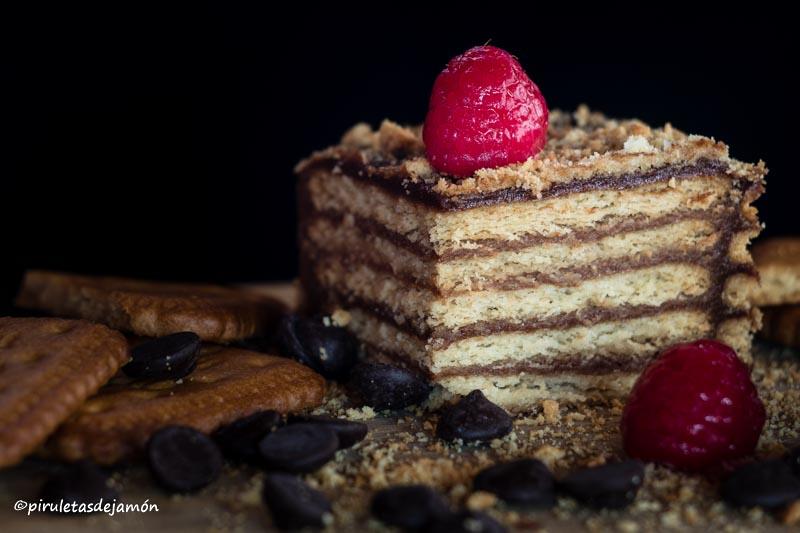 Tarta de la abuela-Piruletas de jamón- Blog de cocina