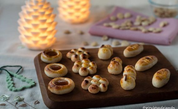 Mazapanes |Piruletas de jamón- Blog de cocina