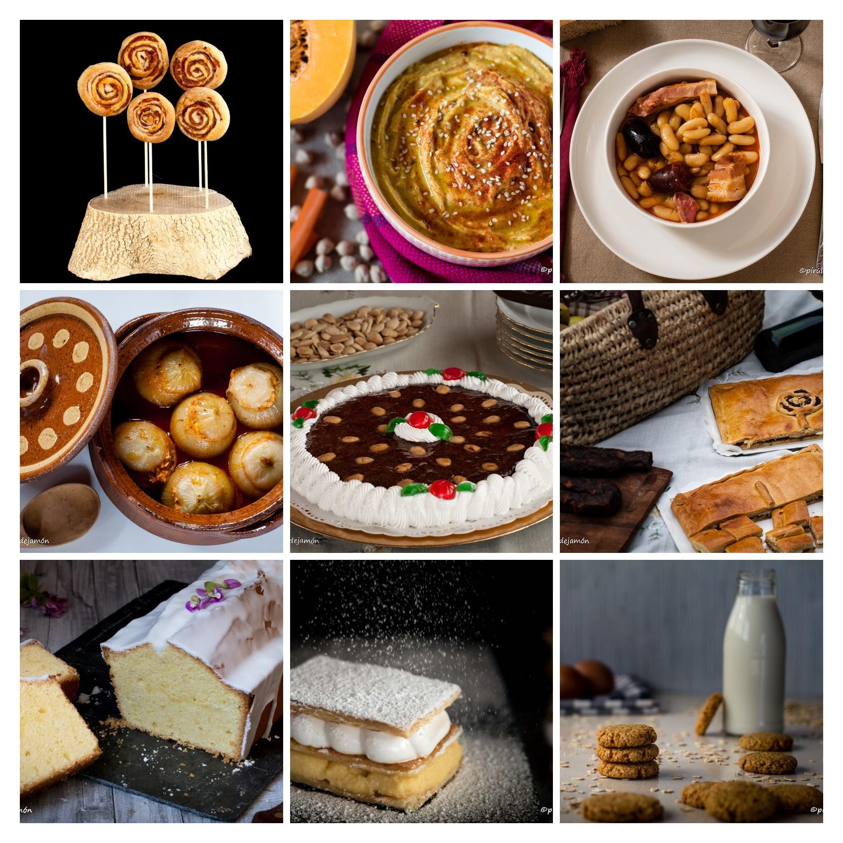 Tercer aniversario |Piruletas de jamón- Blog de cocina