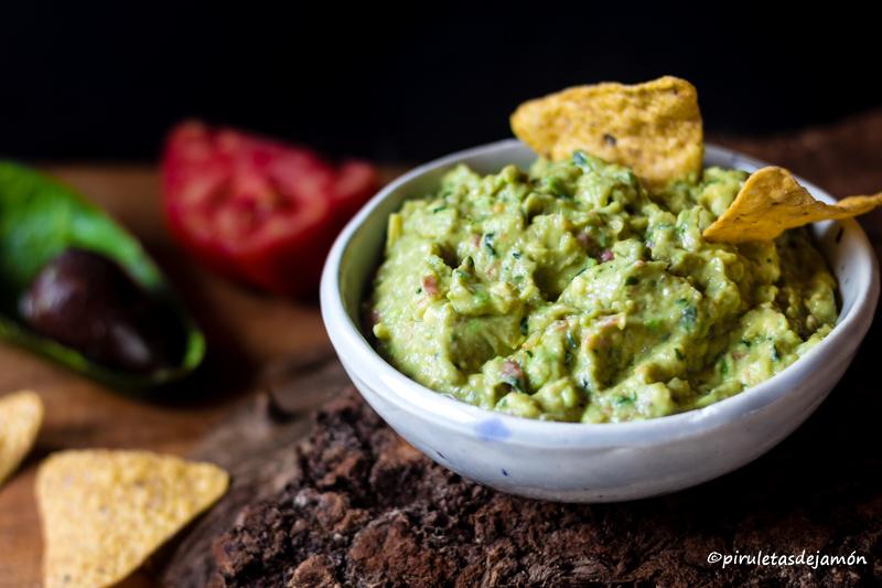 Guacamole |Piruletas de jamón- Blog de cocina