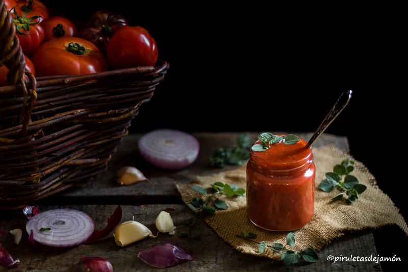 Salsa napolitana |Piruletas de jamón- Blog de cocina