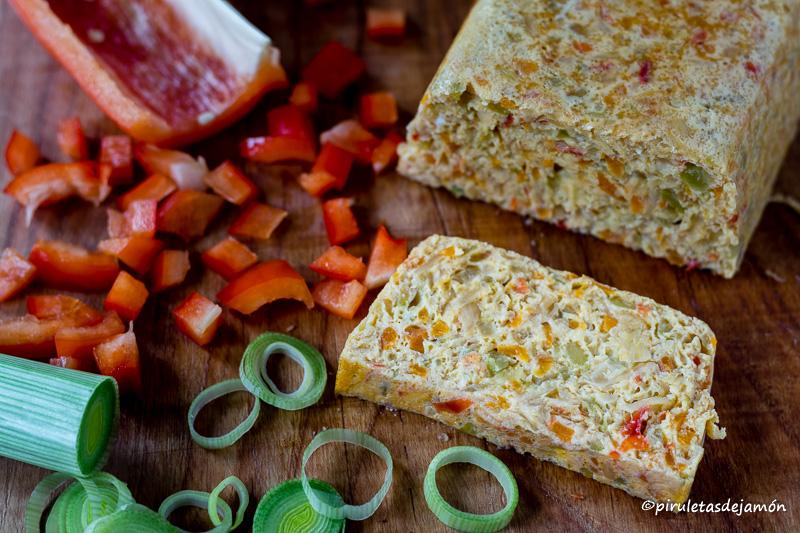 Pastel de verduras |Piruletas de jamón- Blog de cocina
