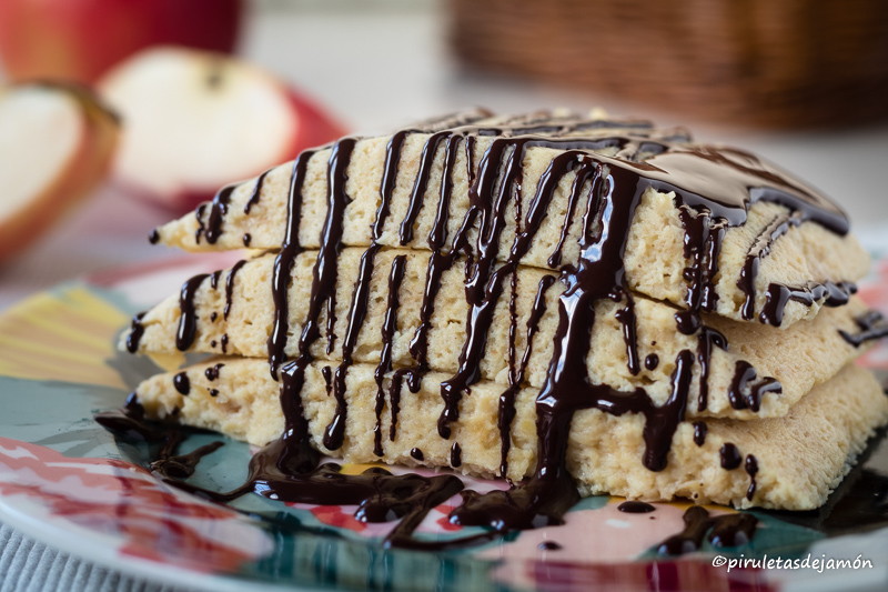 Bizcocho saludable exprés |Piruletas de jamón- Blog de cocina