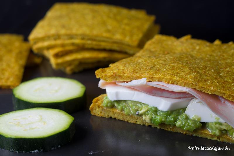 Pan de calabacín Piruletas de jamón- Blog de cocina