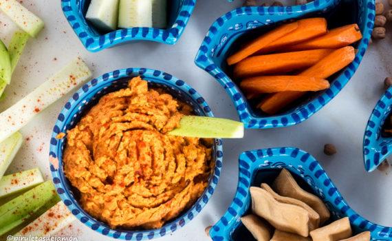 Hummus de pimientos