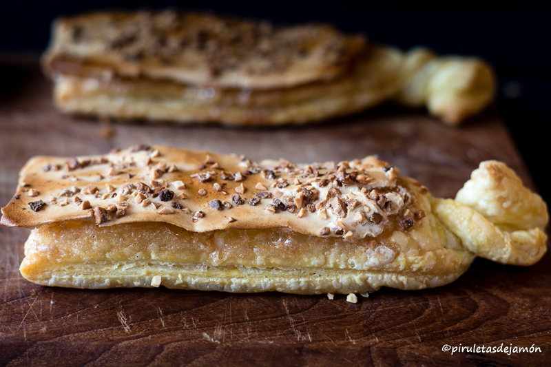 Corbatas de Unquera|Piruletas de jamón- Blog de cocina