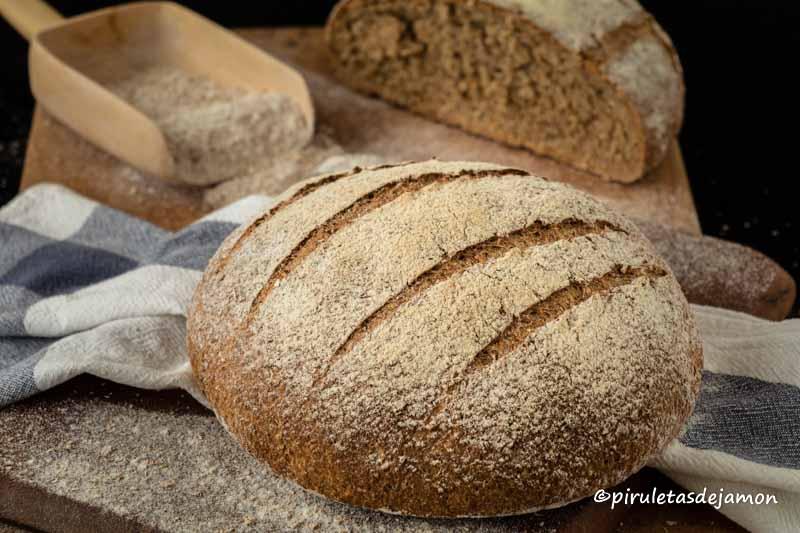 Pan integral 100% |Piruletas de jamón- Blog de cocina