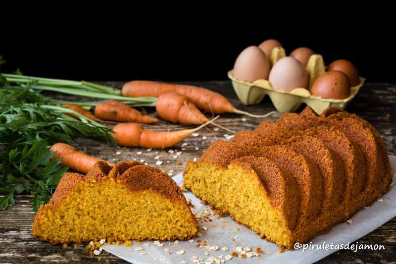 Bizcocho de zanahoria |Piruletas de jamón- Blog de cocina