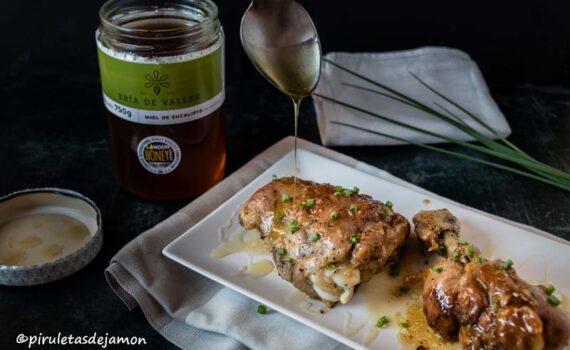 Pollo con miel