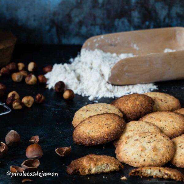 Galletas de avellana  Piruletas de jamón - Blog de cocina