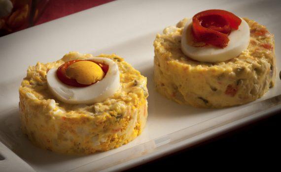 Ensaladilla-Piruletas de jamón-Blog de cocina