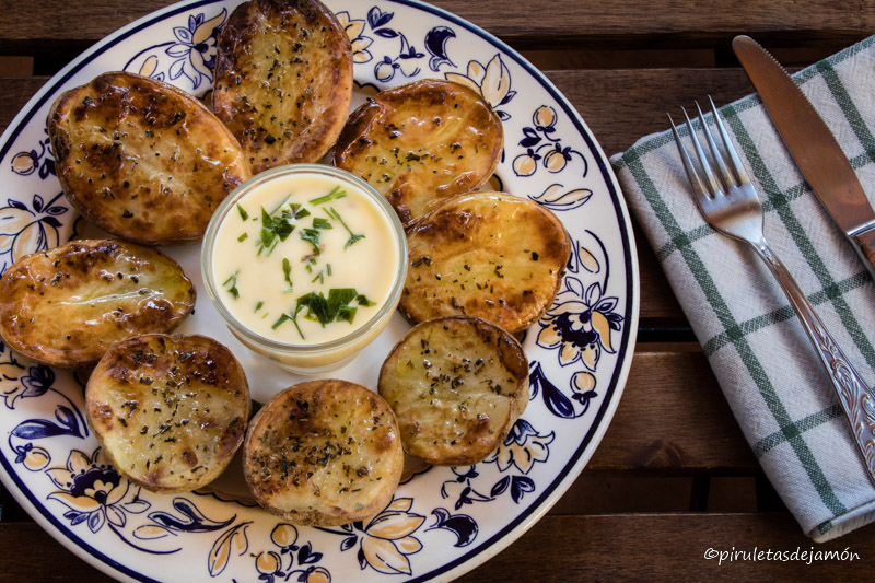 Patatas asadas en el horno