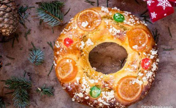 Roscón de Reyes |Piruletas de jamón - Blog de cocina