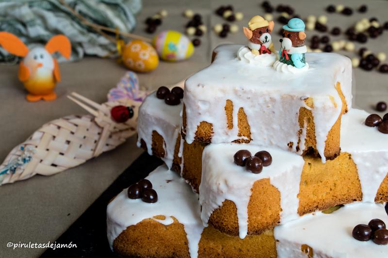 Bollo de Pascua de Avilés | Piruletas de jamón - Blog de cocina