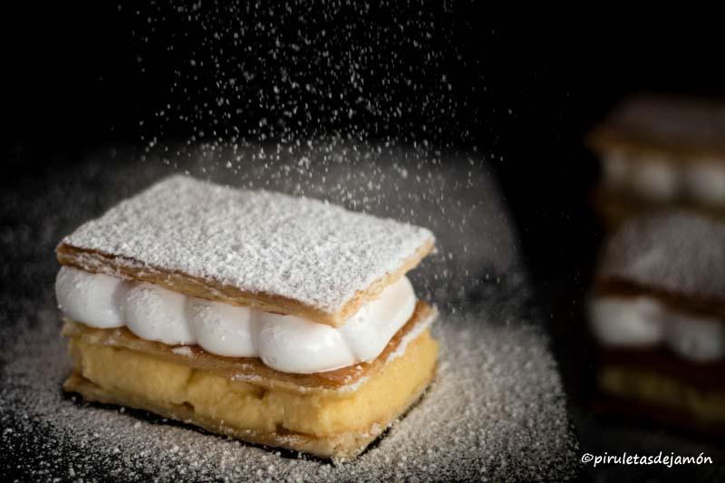 Milhojas-Piruletas de jamón- Blog de cocina
