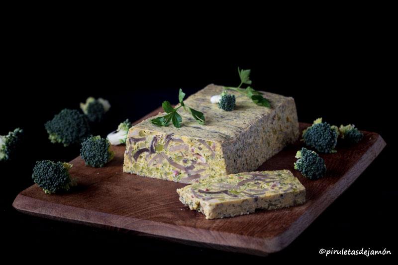 Pastel de champiñones y brócoli |Piruletas de jamón- Blog de cocina