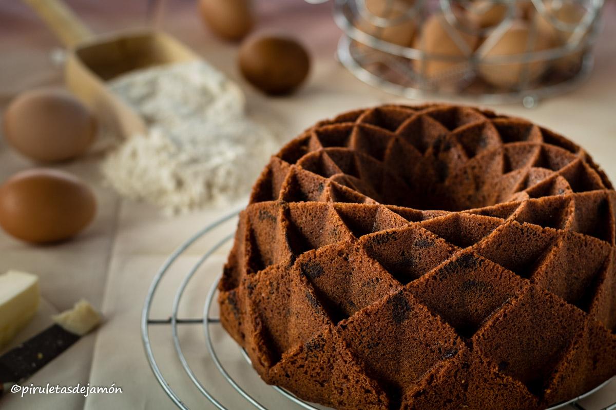 Bizcocho de almendra |Piruletas de jamón- Blog de cocina