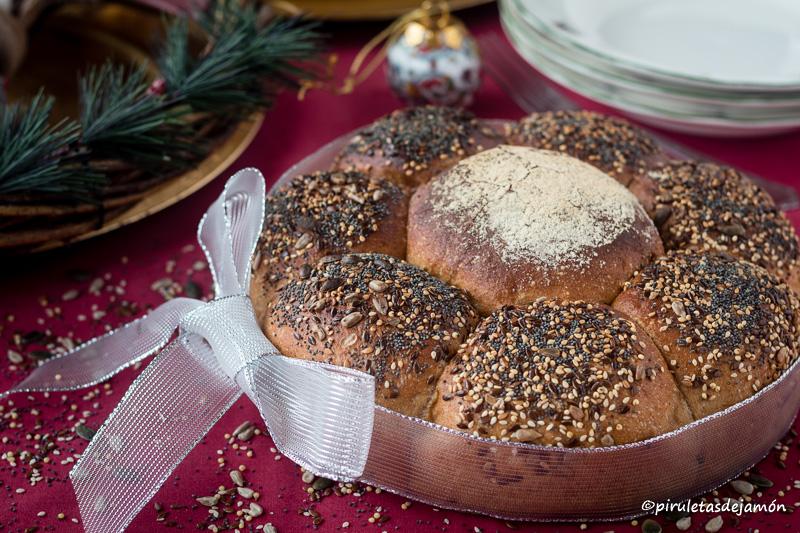 Pan de semillas |Piruletas de jamón- Blog de cocina