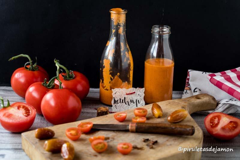Kétchup |Piruletas de jamón- Blog de cocina