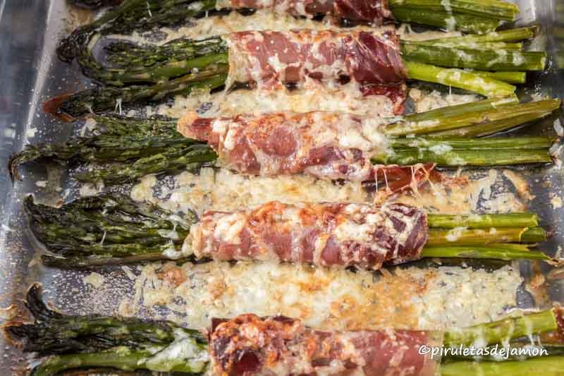 Trigueros con jamón|Piruletas de jamón- Blog de cocina
