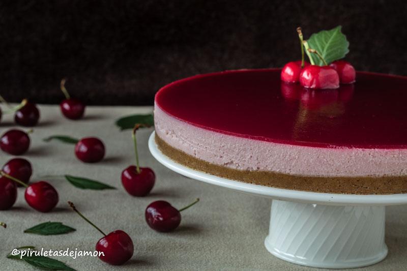 Tarta de cerezas |Piruletas de jamón- Blog de cocina