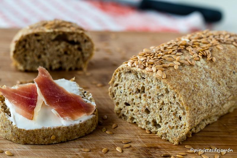 Pan de lino |Piruletas de jamón - Blog de cocina