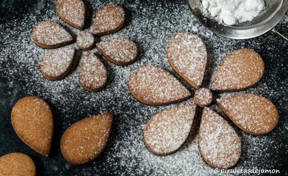Galletas con harina de castañas