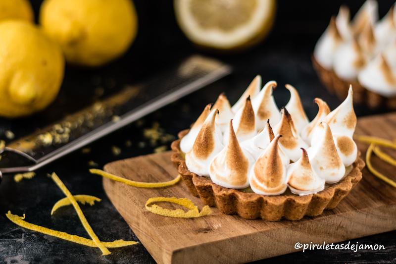 Pastel de limón   Piruletas de jamón - Blog de cocina