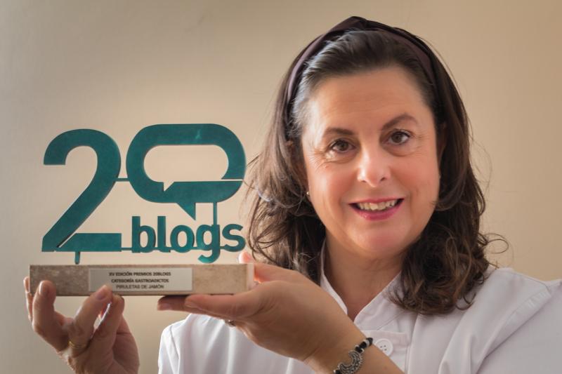Premios 20blogs   Piruletas de jamón - Blog de cocina